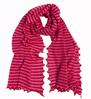 Cashmere And Wool Striped Scarf