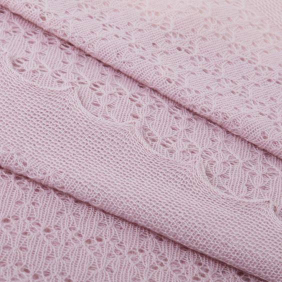 pink cosy cashmere close up
