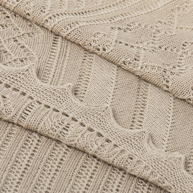 Porridge Close up Lightweight Patchwork Baby Shawl