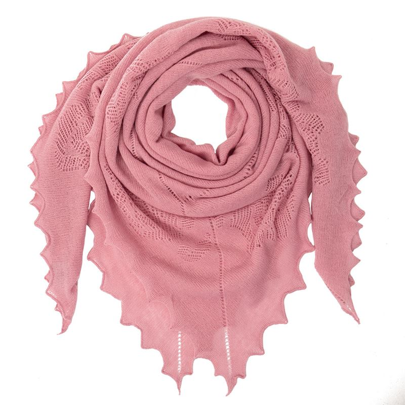 Amy Rose Lambswool Shawl