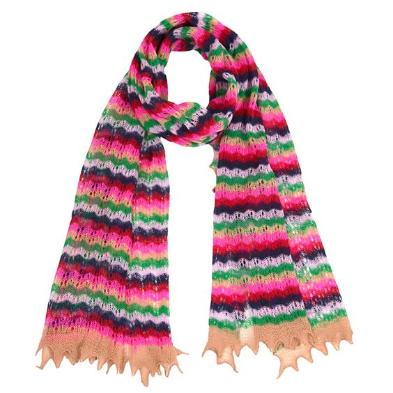 Retro wool scarf