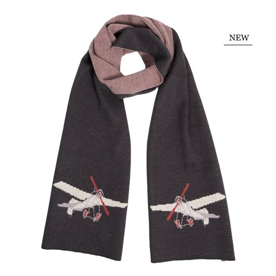 Men`s 1912 Blackburn Monoplane Scarf