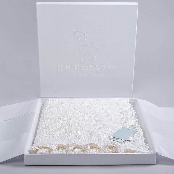 Beautifully Gift Boxed Baby Shawl