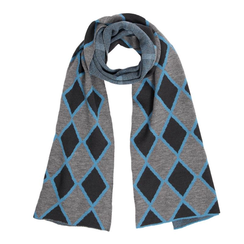 Cashmere And Wool Jacquard Scarf