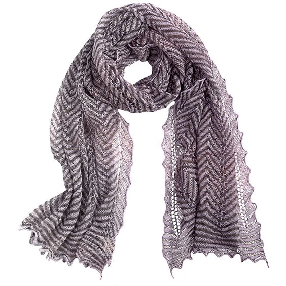 Chevron Striped Scarf