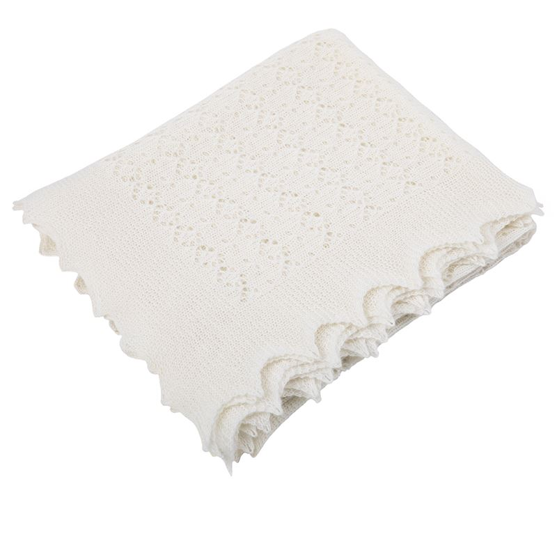 Baby Blankets Pink Blue /& White Cosy /& Extra Soft to the touch!